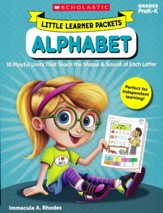 Little Learner Packets: Alphabet: 10  Playful Units That Teach the Shape & Sound of Each Letter
