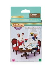 Calico Critters, Chic Dining Table Set