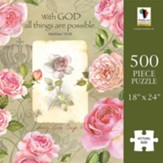 With God All Things Are Possible Puzzle, 500 Pieces