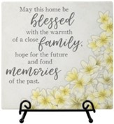 Home Blessing, Easel Plaque