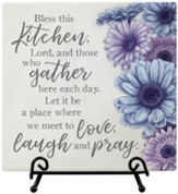 Kitchen Blessing, Easel Plaque