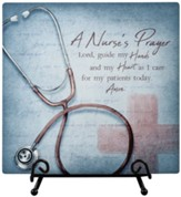 Nurse Prayer, Easel Plaque