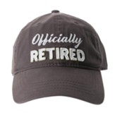 Officially Retired Cap, Gray