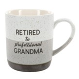 Retired To Professional Grandma Mug