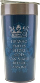 He Who Kneels Travel Mug