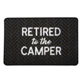 Retired To the Camper Floor Mat