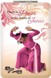 There Is Power in the Name of Jesus Compact Mirror
