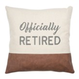 Officially Retired Pillow