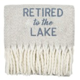 Retired to the Lake Blanket