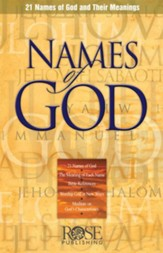Names of God, Pamphlet - eBook