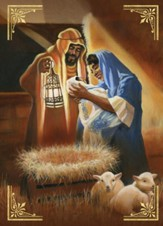 Nativity Scene Christmas Cards, Box of 15