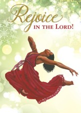 Rejoice in the Lord, Dancer, Christmas Cards, Box of 15