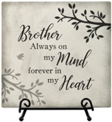 Brother Comfort, Easel Plaque
