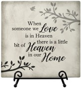 Heaven Home, Easel Plaque