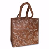 Give Thanks To the Lord Eco Tote Bag, Brown