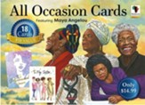 Maya Angelou, All Occasion Assorted Cards, Box of 18
