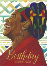 Birthday Blessings, Maya Angelou, Birthday Cards, Box of 6