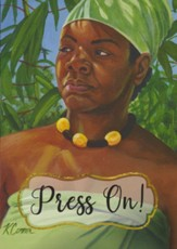 Press On, Maya Angelou, Encouragement Cards, Box of 6