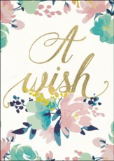A Wish, Maya Angelou, Encouragement Cards, Box of 6
