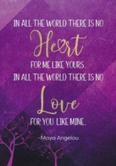 Love For You, Maya Angelou, Cards, Box of 6