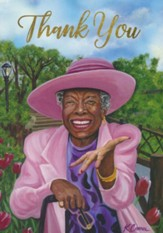 Thank You, Maya Angelou, Pink Cards, Box of 6