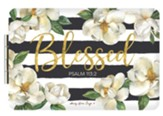 Blessed, Magnolia, Compact Pocket Mirror