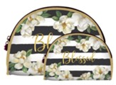 Blessed, Magnolia, Cosmetic Duo Bags