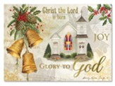 Glory to God, Golden Bells, Christmas Cards, Box of 15