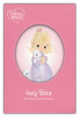 NKJV Precious Moments Small Hands Bible, Comfort Print--hardcover, pink