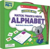 Learning Mats: Match, Trace & Write  the Alphabet