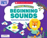 Learning Puzzles: Beginning Sounds