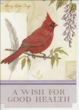 Get Well Songbird Cards, (KJV)