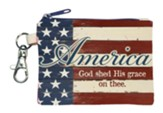 America, God Shed His Grace On Thee Coin Purse