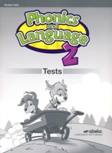 Phonics and Language 2 Test Book  (Unbound Edition)