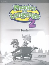 Phonics and Language 2 Test Book