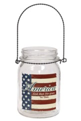 America, God Shed His Grace On Thee Hanging Jar