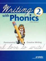 Writing with Phonics 2 (Cursive;  Unbound 5th Edition)