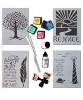 Inspired Stencils Bible Journaling Kit