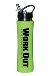 Workout Sports Bottle, Green