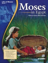 Moses in Egypt Homeschool  Flash-a-Card Bible Story