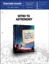 Intro to Astronomy Parent Lesson  Plan - PDF Download [Download]