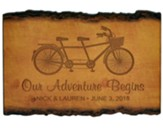 Personalized, Barky Sign, Our Adventure Begins, Small