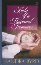 Lady of a Thousand Treasures, Large Print