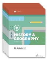Lifepac History & Geography Workbook Set, Grade 5