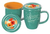 Poppies, Mug with Lid