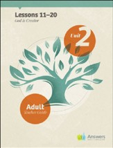 Answers Bible Curriculum Adults Unit 2 Teacher Guide (2nd Edition)