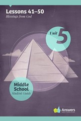 Answers Bible Curriculum Middle School Unit 5 Student Guide (2nd Edition)