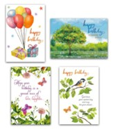 Birthday Cards, Bounty (KJV), Box of 12