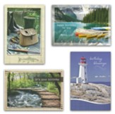 Birthday Cards, His Gifts (KJV)  , Box of 12