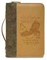 Eagle Bible Cover Isaiah 40:31, Large